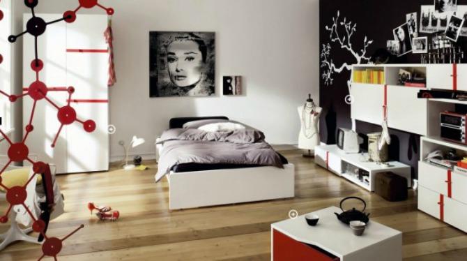 g10 Moderne sobe za tinejdžere