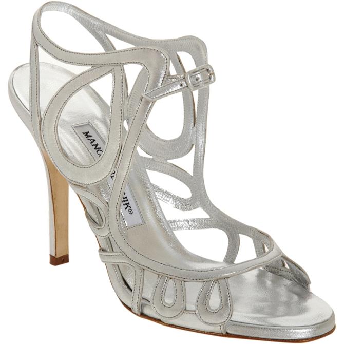 manolo 4 Poznate svadbene cipele dizajnera Manola Blanika