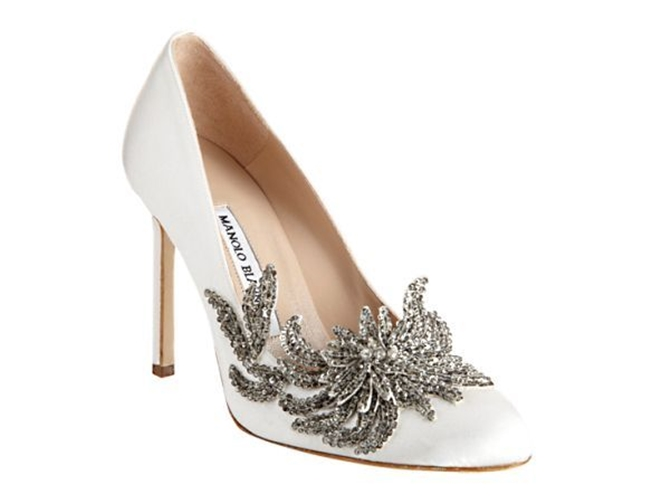 manolo 6 Poznate svadbene cipele dizajnera Manola Blanika