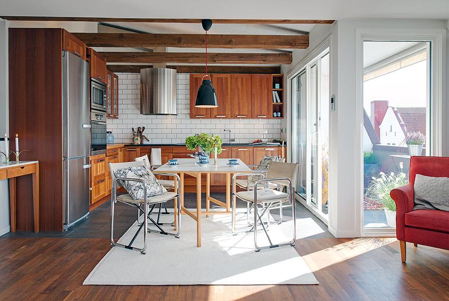 interior swedish design Rustičan i topao dom u Švedskoj