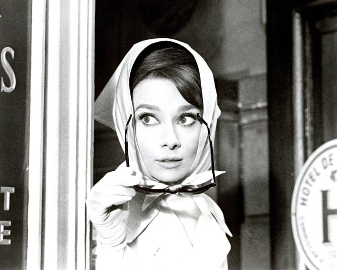 slika5 Stil Audrey Hepburn: Glamurozno i elegantno