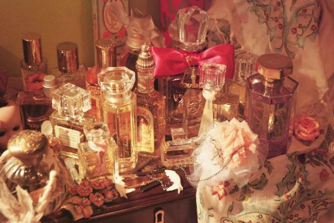 parfemi Istorija parfema