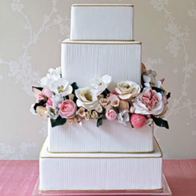 32 Deset najlepših svadbenih torti
