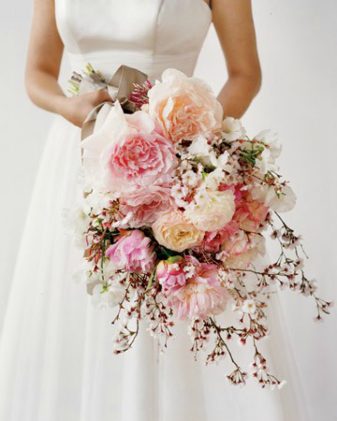 Bidermajer 2 Trešnjin cvet, idealna dekoracija za prolećno venčanje