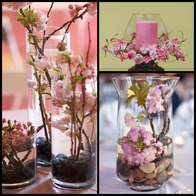 Dekoracije i detalji 4 Trešnjin cvet, idealna dekoracija za prolećno venčanje