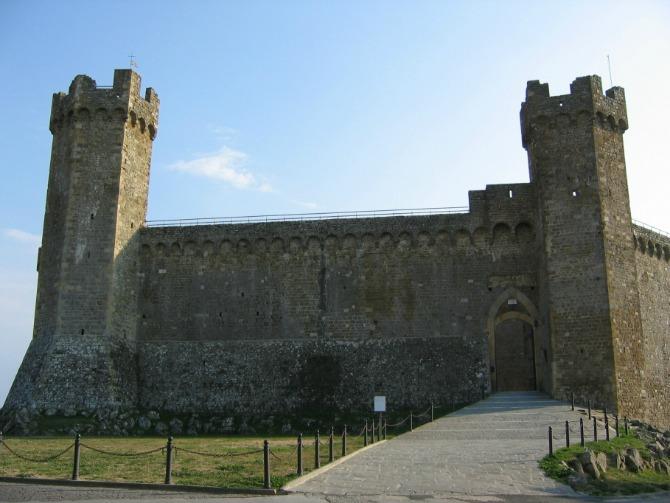 6 zamak Italijanski zamkovi: Montalćino, Toskana