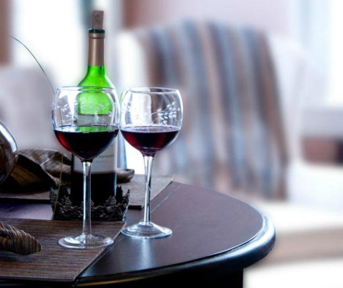 8 vino Italijanski zamkovi: Montalćino, Toskana