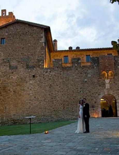 Italijanski zamkovi: Montalćino, Toskana