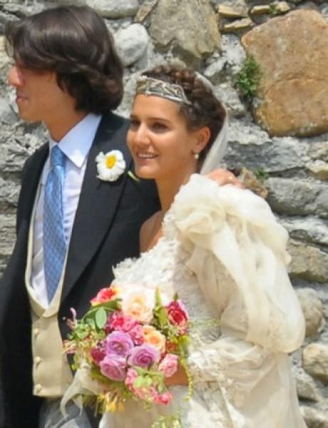 Venčanja manekenki: Margherita Missoni i Eugenio Amos