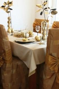 Raskošna zlatna dekoracija