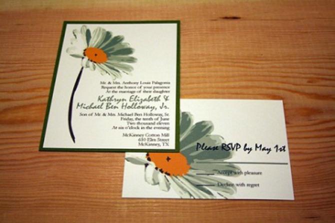 Pozivnice za venčanje 2 Venčanje inspirisano belim radama
