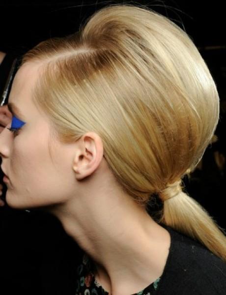 Svadbena frizura: Elegantan konjski rep