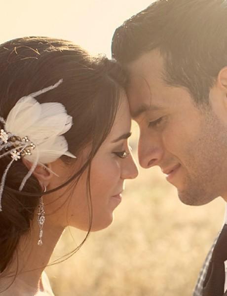 Stajling za venčanje bez venčanice: Cvetno i pastelno