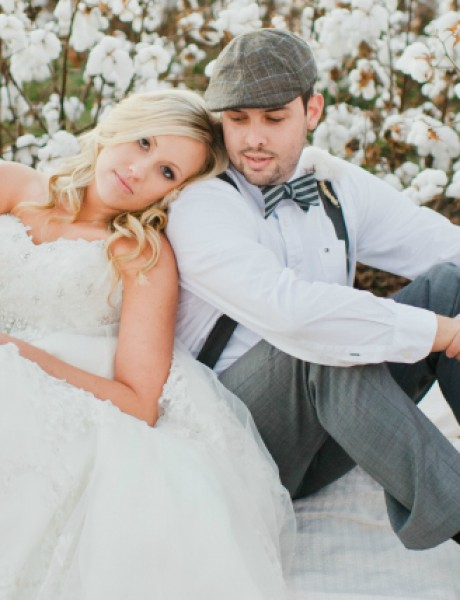 Stajling za venčanje bez venčanice: Zelena i bela