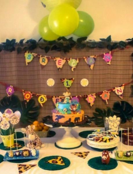 Studio Pjaf: Rođendanska dekoracija