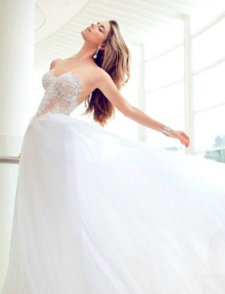 Nurit Hen: Nova glamurozna kolekcija venčanica