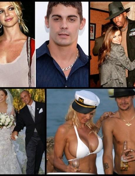 10 najkraćih brakova slavnih i poznatih