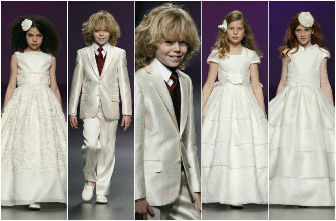 slika5 Autfiti koji će se slagati sa vašim venčanjem: Dečaci i devojčice cveća