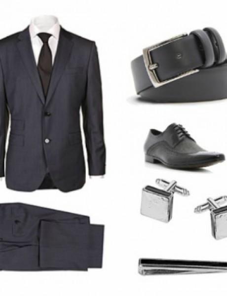Moda za muškarce: Sivo odelo