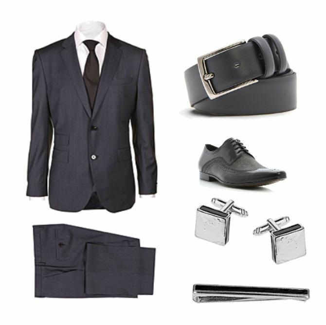 Untitled4 Moda za muškarce: Sivo odelo