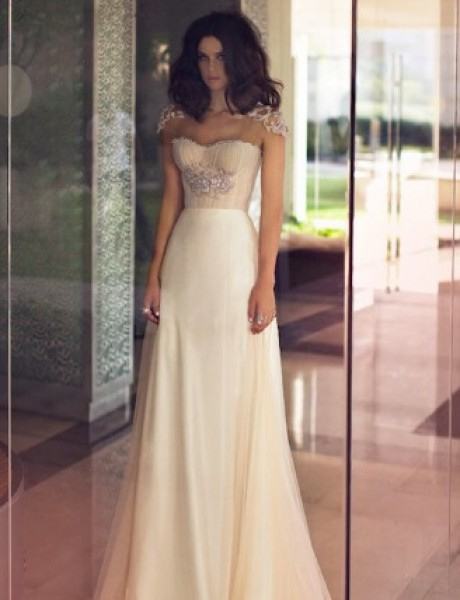 Zahavit Tshuba: Moderne, glamurozne i odvažne venčanice