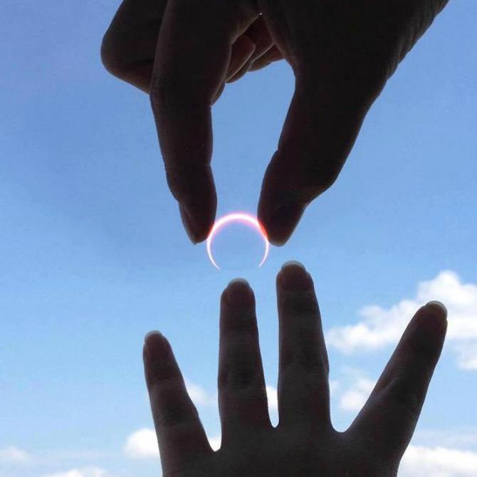 a.baa Moon wedding ring Triput meri jednom seci
