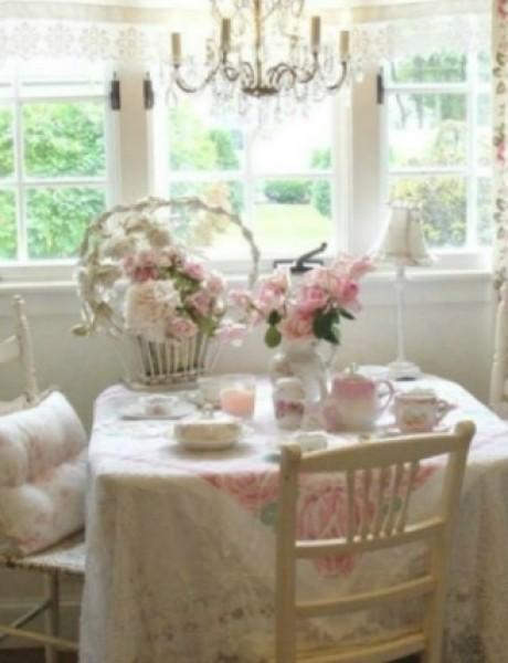 Devojačke sobe – romantični, vintage stil