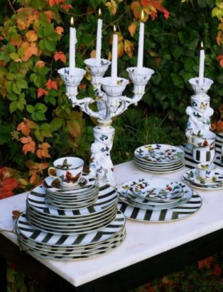 Christian Lacroix: Luksuzno posuđe