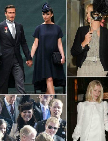 Odevne kombinacije poznatih ličnosti na venčanjima njihovih kolega (1. deo)