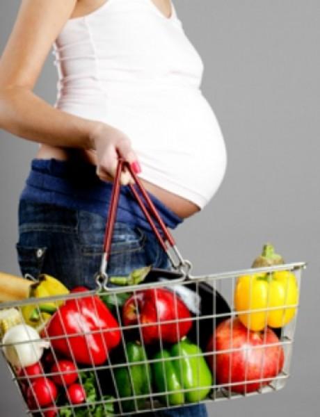 """Sva """"da"""" i """"ne"""" ishrane u trudnoći"""