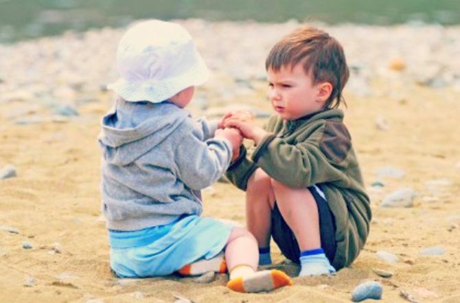 slikka Naučite decu da dele svoje stvari sa drugima
