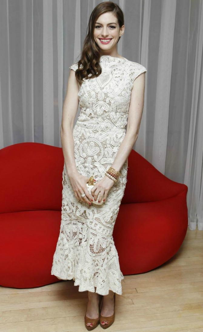 En Wannabe Magazine: Deset poznatih dama u čipkastim haljinama