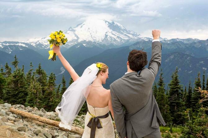 Planinsko venčanje Kako da ugostite zvanice