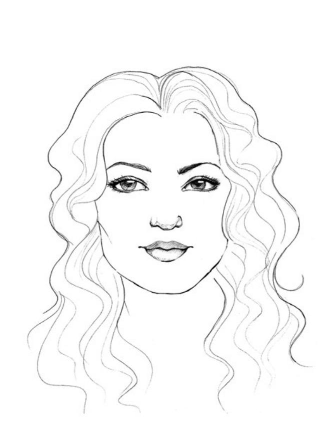 lice četvrtasto Idealna frizura: Četvrtasto lice
