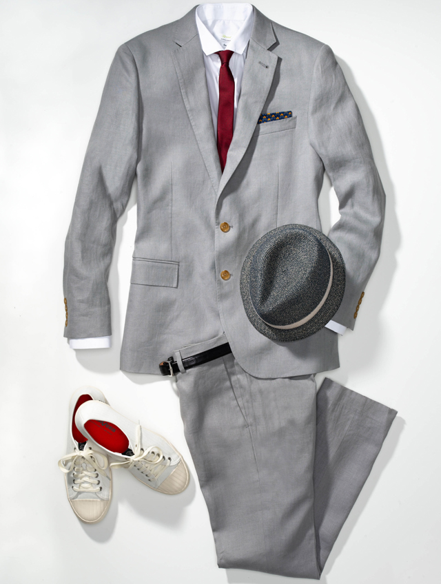 men1 Moderan mladoženja: Sivo odelo