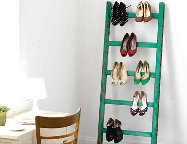 Cipele na merdevinama Skladišta za cipele
