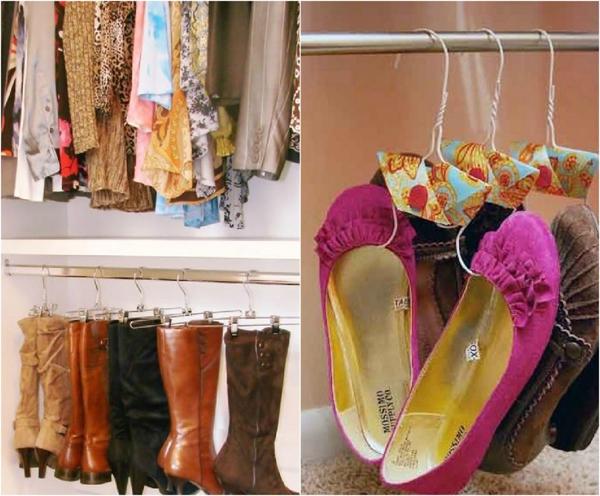 Okacene cipele i cizme Skladišta za cipele