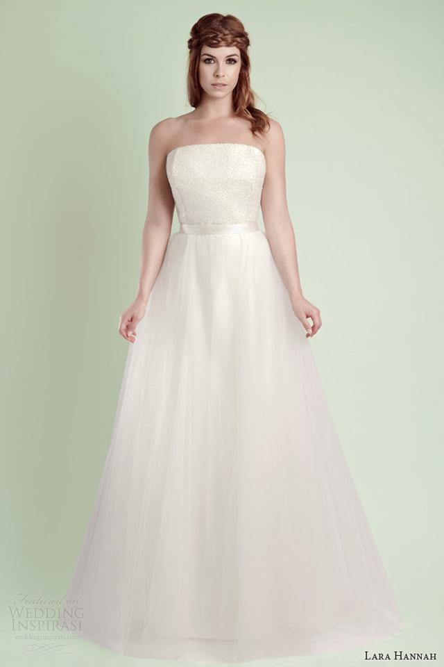 lara hannah 2014 star strapless wedding dress Lara Hannah: Magična kolekcija