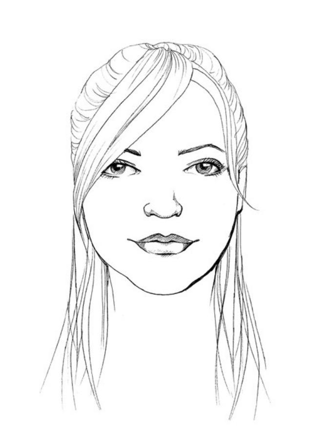 okruglo lice Idealna frizura: Okruglo lice