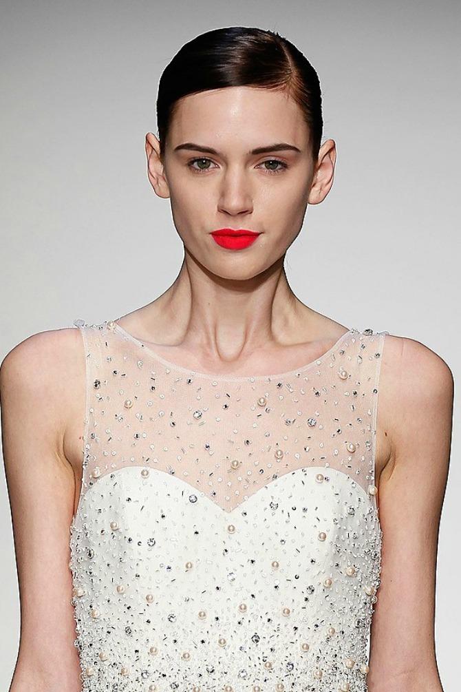 Amsale 2013 Bridal Collection gl 28mar13 getty b Šminka za najlepši dan (2. deo)