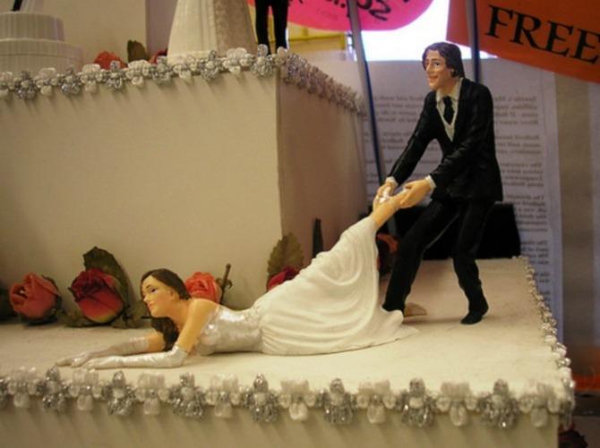 most bizarre wedding cakes ever 1725004357 jun 3 2013 1 600x449 Neobične svadbene torte