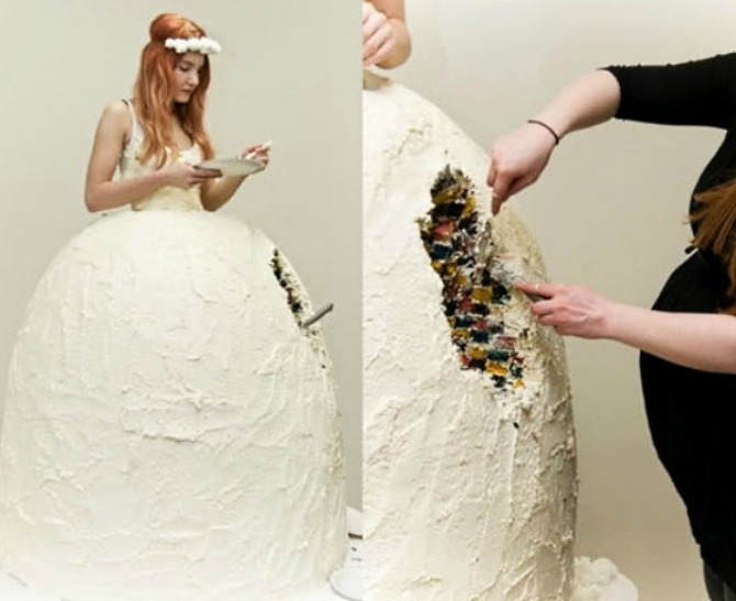 most bizarre wedding cakes ever1919804602 jun 3 2013 1 600x490 Neobične svadbene torte