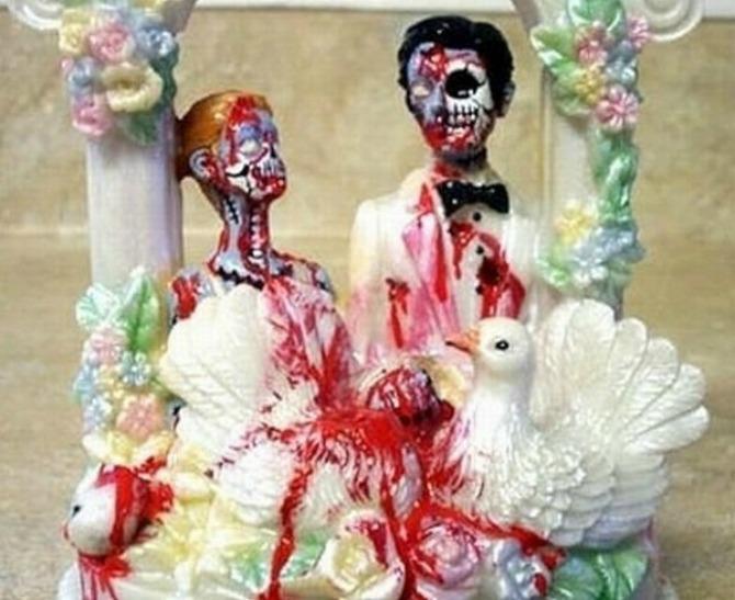 most bizarre wedding cakes ever313685366 jun 3 2013 1 600x490 Neobične svadbene torte