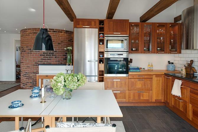 Swedish design 21 Rustičan i topao dom u Švedskoj