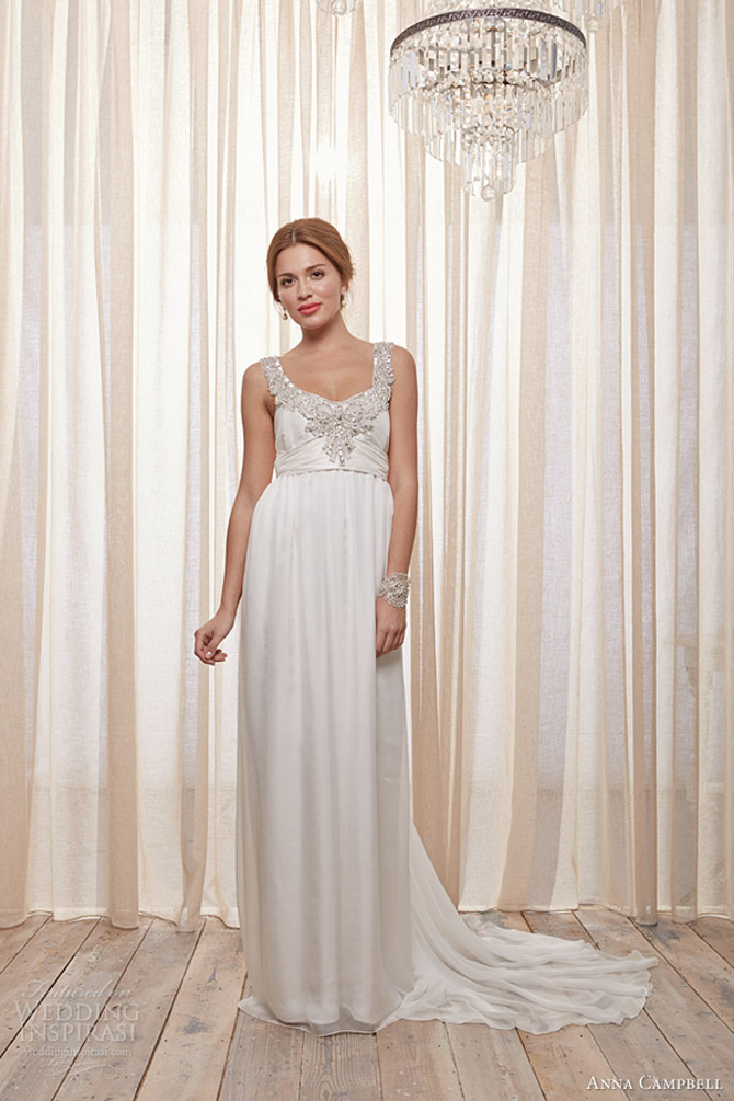 anna campbell 2014 wedding dresses amity gown Anna Campbell: Vintidž stil
