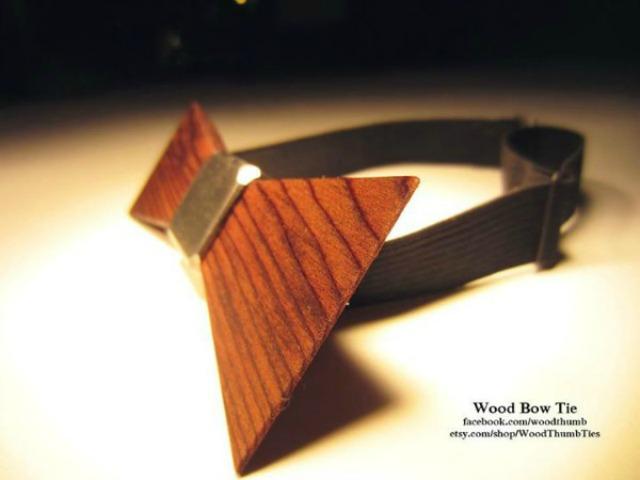 leptir masna Drvene kravate