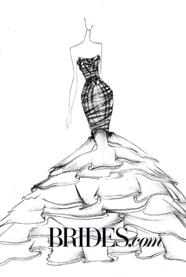 Ines Di Santo po Kanyeovom ukusu Venčanica za Kim Kardashian: Ideje poznatih dizajnera (1. deo)