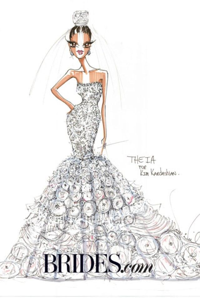 Kreacija brenda Theia Venčanica za Kim Kardashian: Ideje poznatih dizajnera (1. deo)