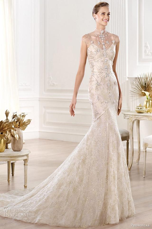 pronovias 2014 yalim wedding dress Venčanica dana: Luksuz i ništa drugo