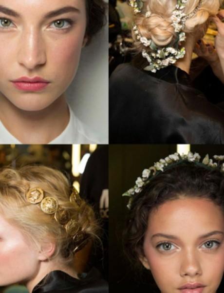 Beauty Bride: Dolce & Gabbana inspiracija